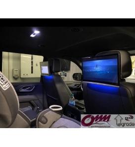 Porsche Cayenne Arka Eğlence Sistemi