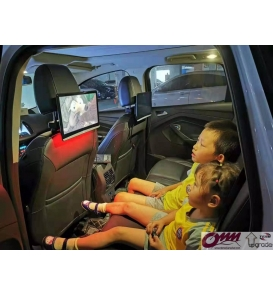 Chrysler 300 Double Din Multimedya Montaj Seti