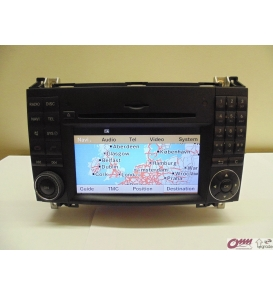Mercedes CL Serisi W216 Video interface