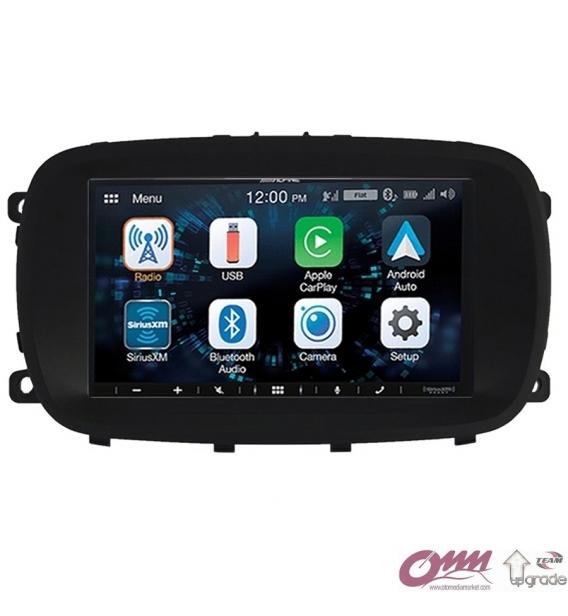 Fiat 500X Alpine Apple CarPlay Android Auto Multimedya Sistemi