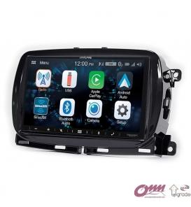 Fiat 500 (312) Alpine CarPlay AndroidAuto Multimedya Sistemi