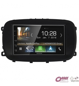 Fiat 500X Kenwood CarPlay AndroidAuto Mirrorlink Multimedya Sistemi