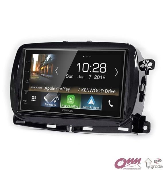 Fiat 500 (312) Kenwood CarPlay AndroidAuto Mirrorlink Multimedya Sistemi