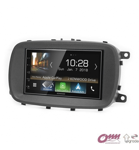 Fiat 500X (334) Kenwood CarPlay AndroidAuto Mirrorlink Multimedya Sistemi
