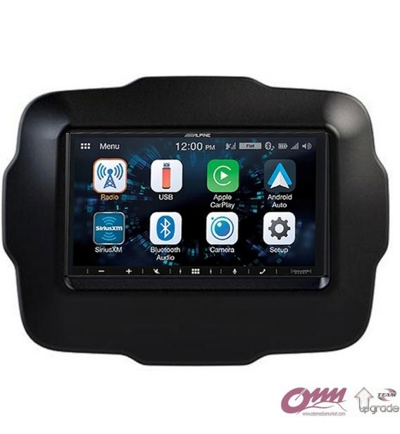 Jeep Renegade Alpine CarPlay AndroidAuto Multimedya Sistemi