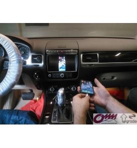 VW Touareg RNS 850 Üzerinde Telefon Aynalama Sistemi