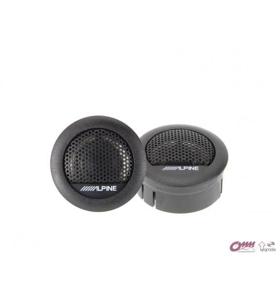 Alpine SXE-1006TW Mylar-Titanyum Dengeli Kubbe Tweeter 3 cm