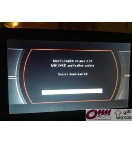 Audi MMI 2G Bootloader Yazılımı