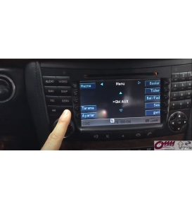 Mercedes Benz W211 E Classe Comand 2.5 USB Bluetooth ve Bluetooth Audio Sistemi