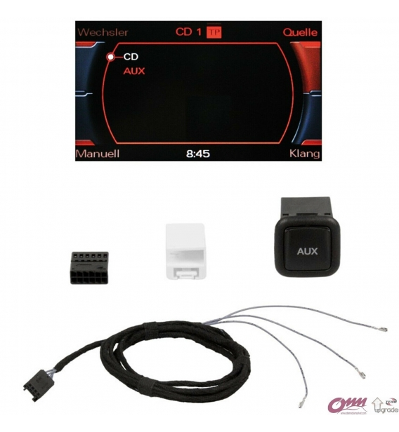 Audi MMI 3G Basic AUX Aktivasyonu