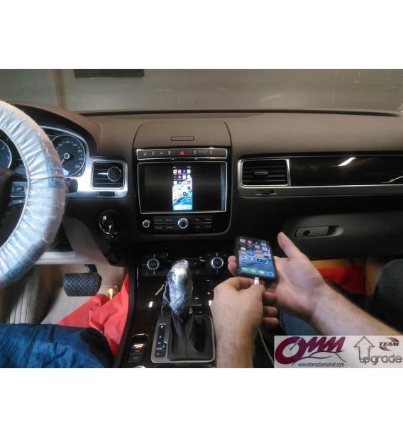 VW Touareg RNS 850 Üzerinde Apple Carplay Sistemi