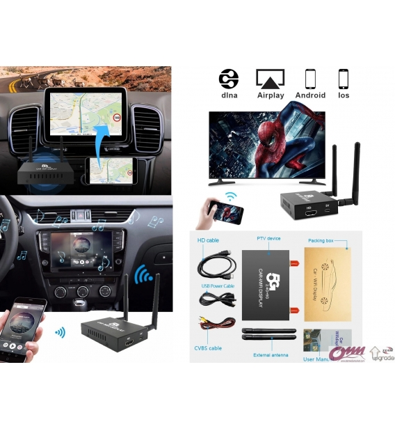 Audi Q7 4L Telefon Aynalama Sistemi