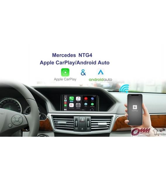 Mercedes NTG4 Sistemler için APPLECARPLAY