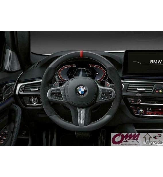 BMW M5 F90 G30 G31 MGU Live Cocpit Sistem ID7 ve Hayalet Gösterge