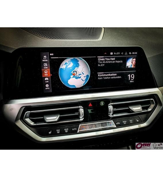 BMW Live Cockpit Professional MGU TV / video aktivasyonu için Hareketli Video