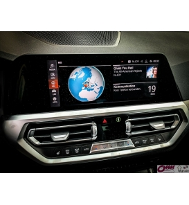 BMW Live Cockpit Professional MGU TV / video aktivasyonu için Hareketli Video