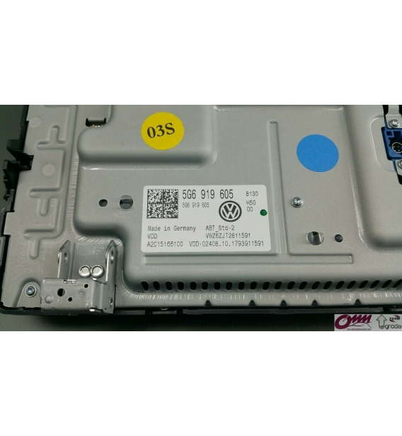 """Orijinal VW Passat B8 3G radyo ortam telefonu dokunmatik kontrol ünitesi 8 """"MIB2"""