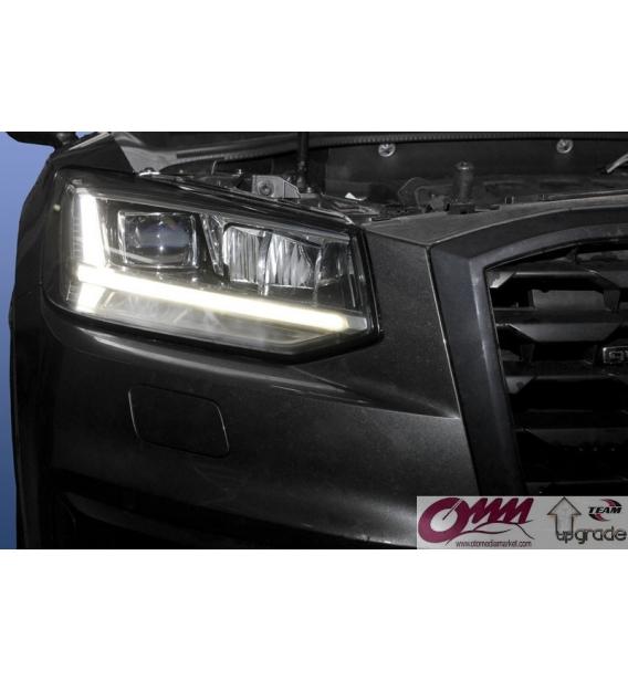Audi Q2 GA için LED DRL'li LED Farlar