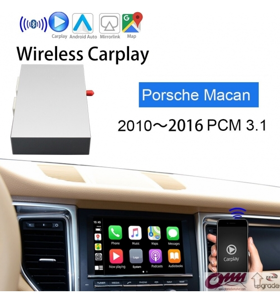 Porsche Macan Kablosuz Apple Carplay Androidauto Sistemi