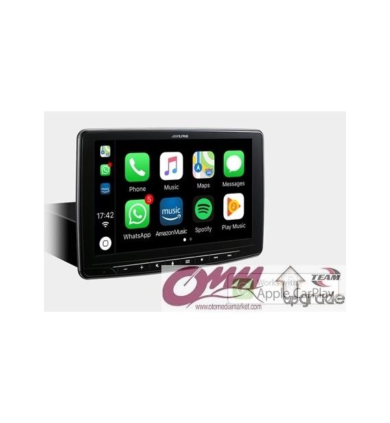 "Alpine iLX-F903D  9"" Ekran. Apple CarPlay ve Android Auto uyumlu Dijital Medya İstasyonu"
