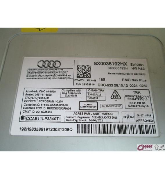 Audi A1 RMC Navigasyon Plus Ana Ünite