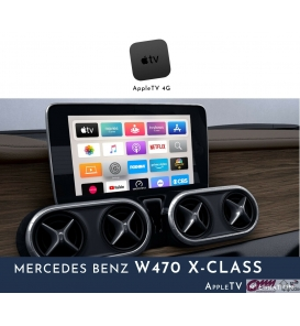 Mercedes X Serisi W470 Apple Tv Sistemi