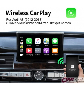 Audi A8 MMI 3G / 3GP Apple Carplay Sistemi
