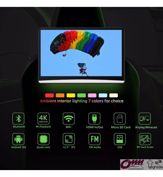 Audi Q7 Android Arka Eğlence Sistemi