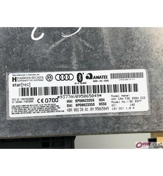Audi A4 A5 Q5 Concert Bluetooth Sistemi