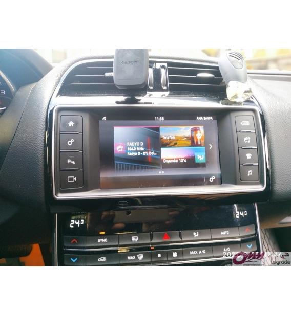 Jaguar XE CARPLAY Sistemi