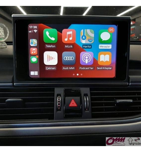 Audi A6 MIB2 Sistemde Apple Carplay Geri Görüş Kamerası ve Hareket Halinde Video