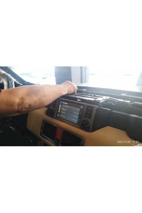 Mercedes-Benz R Serisi W251 Navigasyon Multimedya Ünitesi
