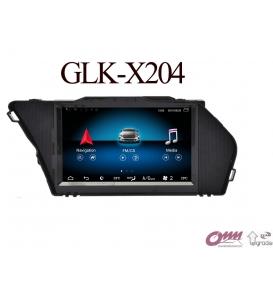 Mercedes GLK Serisi X204 Android Navigasyon Multimedia Sistemi