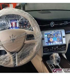 """Hakkında daha ayrıntılıMaserati Quattroporte Uconnect 8.4 """" Bilgi Ekranına SRT ( Street & Racing Technology ) Uygulama"""