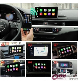 Audi A8 Apple Carplay Video İnterface