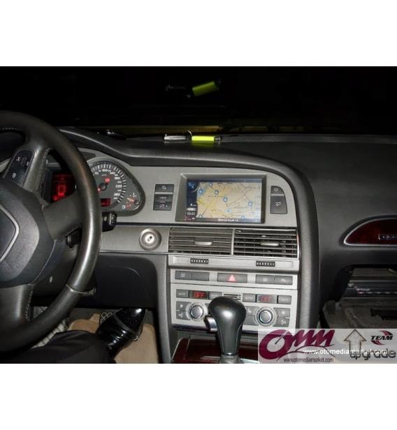 Audi A6 4F MMI 2G Dokunmatik Navigasyon Sistemi