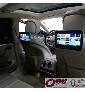 Mercedes S Seisi W222 APPLE TV Sistemi