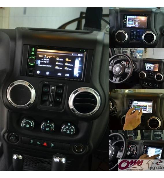Jeep Renegade Clarion Navigasyon Multimedia Sistemi