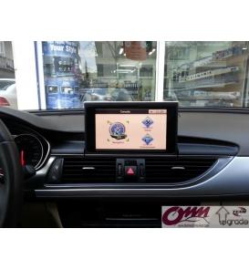 Audi A7 4G RMC Üzerinde Dokunmatik Navigasyon Sistemi