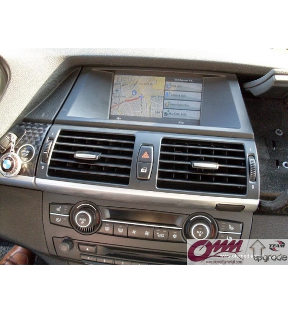 Bmw X6 E71 Üzerinde Dokunmatik Navigasyon Sistemi