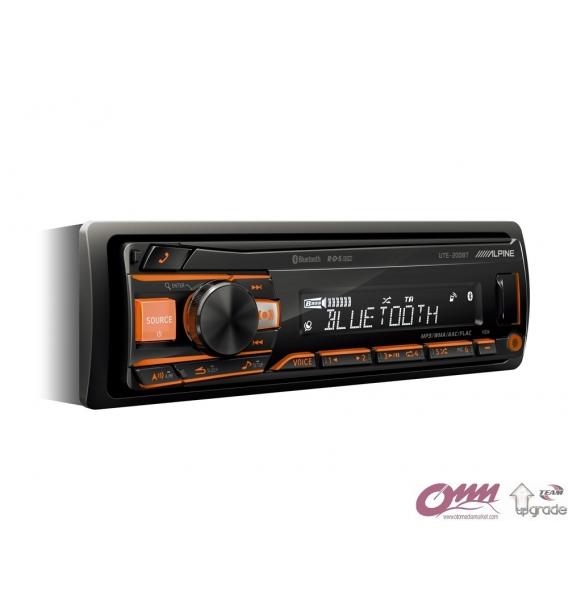 Alpine UTE-200BT Bluetooth® Özellikli Dijital Medya Alıcısı