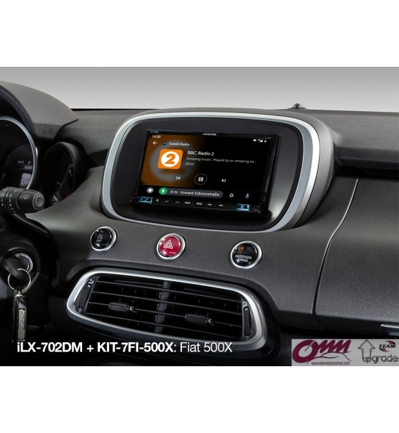 "Alpine ILX-702D Apple CarPlay ve Android Auto özellikli 7"" Dijital Medya İstasyonu"