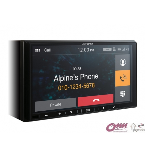 Alpine ILX-W650BT Apple CarPlay ve Android Auto Özellikli 7 inch Dijital Medya İstasyonu
