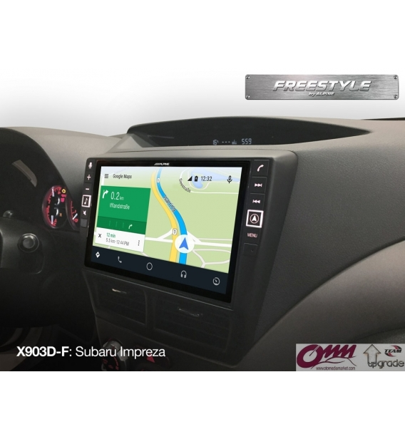 Alpine X703D-F Apple CarPlay ve Android Auto uyumlu Freestyle Ana Ünite