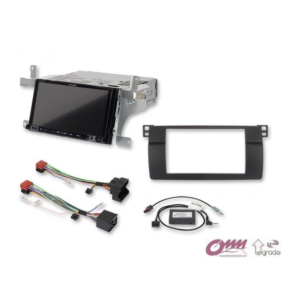 Bmw 3 Serisi E46 Alpine ILX-702E46 Navigasyon Multimedia Sistemi