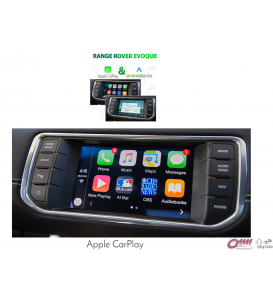 Range Rover Evoque Carplay Sistemi