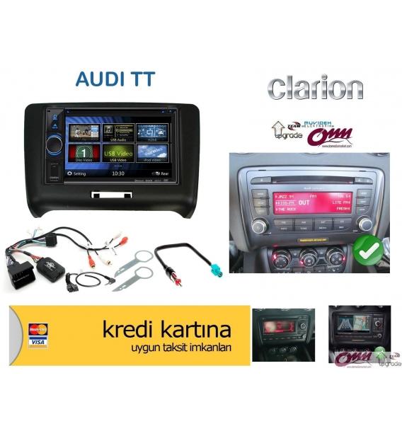 Audi TT Clarion Navigasyon Multimedia Sistemi