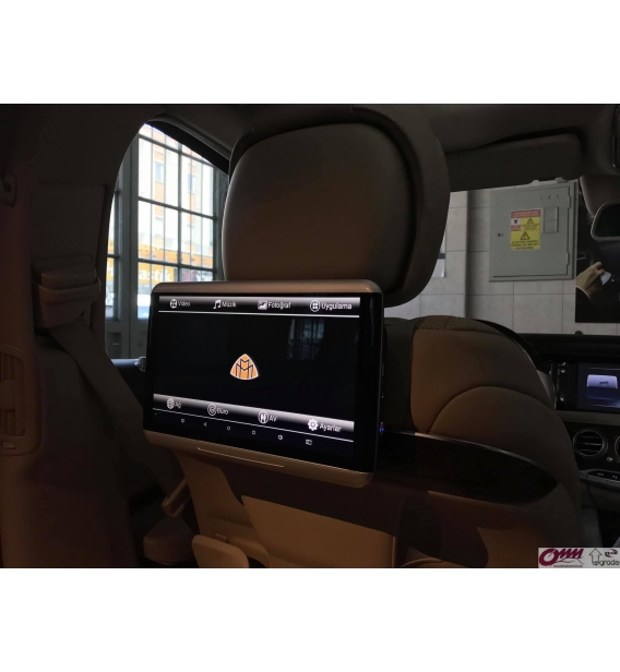 Mercedes S Serisi W222 Android Arka Eğlence Sistemi