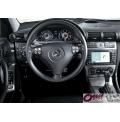 Mercedes AMG W203 C32 C55 karbon kaplama direksiyon simidi iç döşeme