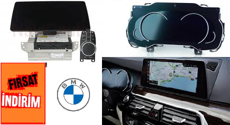 Bmw G30 Hayalet Ekran ve NBT Evo Donanım Yükseltme